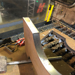 Engineering Machinery | Plasma Cutting 50mm Plate Ireland XPR 300